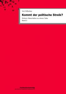 Buch: Kommt der politische Streik