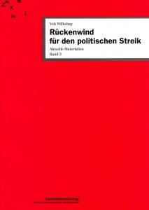 Buch: Rückenwind für den politischen Streik